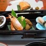 広瀬館 - 朝食:前菜