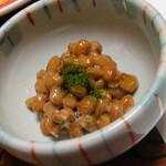 広瀬館 - 朝食:納豆