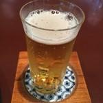 料亭 岡崎 - ビール