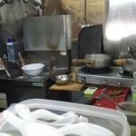 かすみそう - 厨房