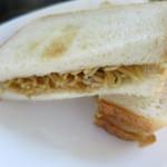 ぱん処 東海林 - 食パンをつかって焼きそばパンをつくりました。