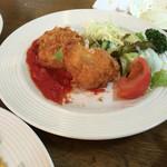レストラン みつはし - カニクリームコロッケ880円