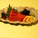 牡蠣三味 - まぐろの刺身