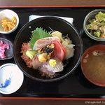 なぶら - 海鮮なぶら丼(1,300円)16.5月