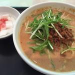 峨嵋山 - 冷やし担々麺