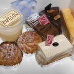 パピヨン - 料理写真:ケーキ