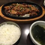 とん豚テジ - とん豚焼肉定食