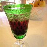 あすかの食卓 - 2500円コースの食前酒・サングリア