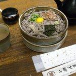 土蔵蕎麦 - 土蔵そば・土蔵そば¥850