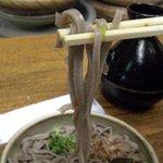 土蔵蕎麦 - 土蔵そば・蕎麦近影2・長さが…