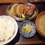 51580730 - お試し大粒餃子・タレザンギ定食(780円)