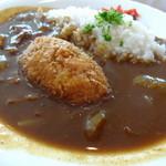 きらりCUCINA - 完熟肉と牛肉コロッケ Wビーフカレーのセット 980円(税別)