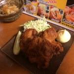 立呑処へそ - 鶏の唐揚げ