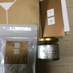 遊茶 - 新しい手提げ袋 「龍珠茶」と「土佐ベルガモット」のコンフィチュール