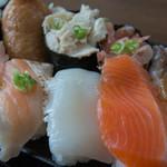 ちよだ鮨 - 料理写真:ランチ・おおしお(498円)