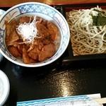 レストラン摩周 - 豚丼セット(税込1,250円)