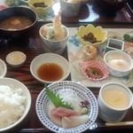 開花亭 - 限定20食の四季いろいろランチ(1,080円)
