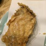 天ぷら てんかつ - 二つ目の牡蠣天ぷら