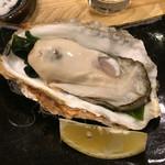 天ぷら てんかつ - 厚岸の牡蠣、年中美味しい