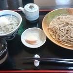 蕎麦一 - 料理写真:釜あげミニしらす丼セット