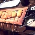 味菜処 - 串カツ盛り合わせ