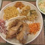 スリランカ料理 ラサハラ - セイロンプレート(1,000円)
