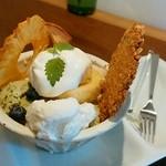 カミオリカオリアトリエブティックカフェ - 料理写真: