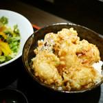51591381 - 牡蠣天丼 ¥850