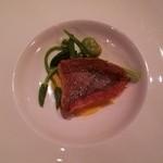 51592514 - お魚料理(鯛)