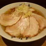 すみれ - 塩ラーメン+チャーシュートッピング('16.5)