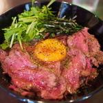 キャメル ダイナー - 絶品ローストビーフ丼(シングル)