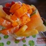 雪みるく - フルーツパフェ