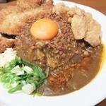 元祖台湾カレー - チキンカツのせ台湾カレー