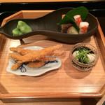 壽山 - 白魚香煎揚げ いいだこ いろいろ