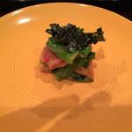 壽山 - 菜の花と赤貝のぬた