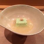 壽山 - アスパラ豆腐