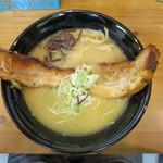 麺日和 - ロングチャーシュー麺
