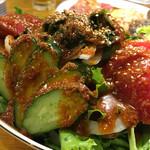 ホルモン焼肉 しあわせや - 韓国風サラダ