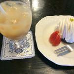レストランぽてと - ゴマと豆乳のモンブラン