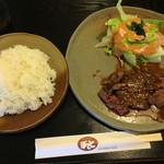 レストランぽてと - 和風ステーキとライス
