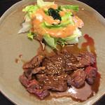 レストランぽてと - 和風ステーキ