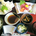 喰処 さか本 - 天ぷら定食