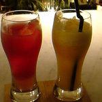 強羅天翠 - スイカとパイナップルのカクテル