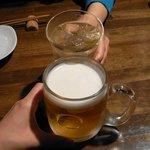 港居酒屋 トレジャーハウス - 生ビールは「ハートランド」