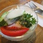 翁堂 - セットのサラダ