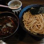 つぼや - 辛黒味噌つけ麺