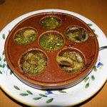 サイゼリヤ - エスカルゴのオーブン焼き