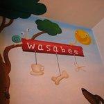 ワサビー - 店内 壁
