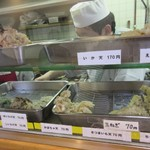 きしめん 寿々木屋 - 天ぷらの種類