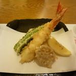 割烹家 一本松 - 天ぷら